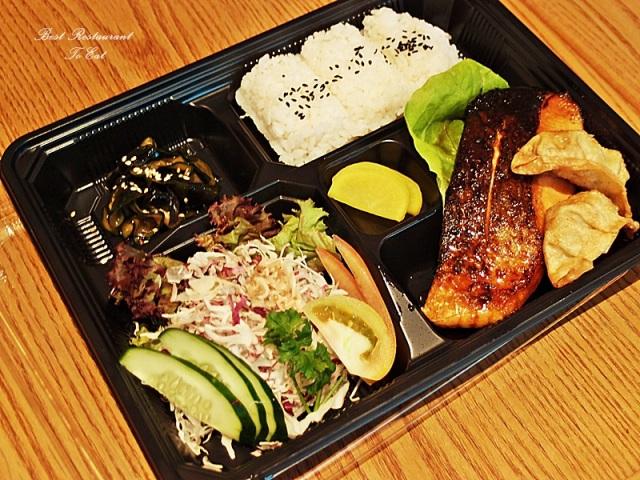 Enju Japanese Restaurant Pullman Kuala Lumpur City Centre Hotel Salmon Bento